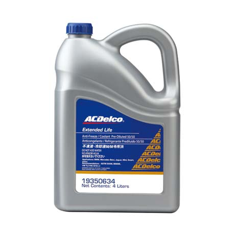 ACDelco水箱精50% 藍色 4L