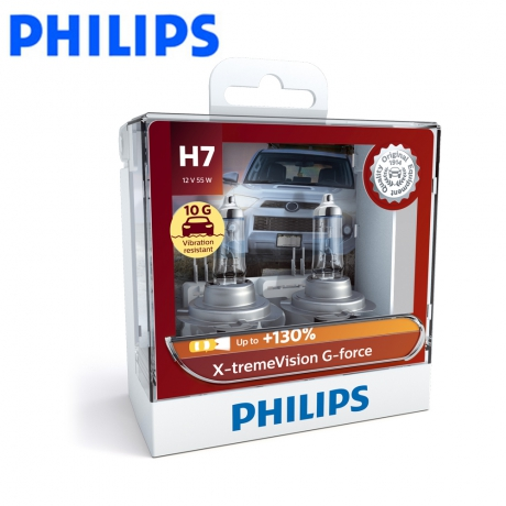 PHILIPS 飛利浦 車燈 極炬光 X-tremeVision G-force +亮130%